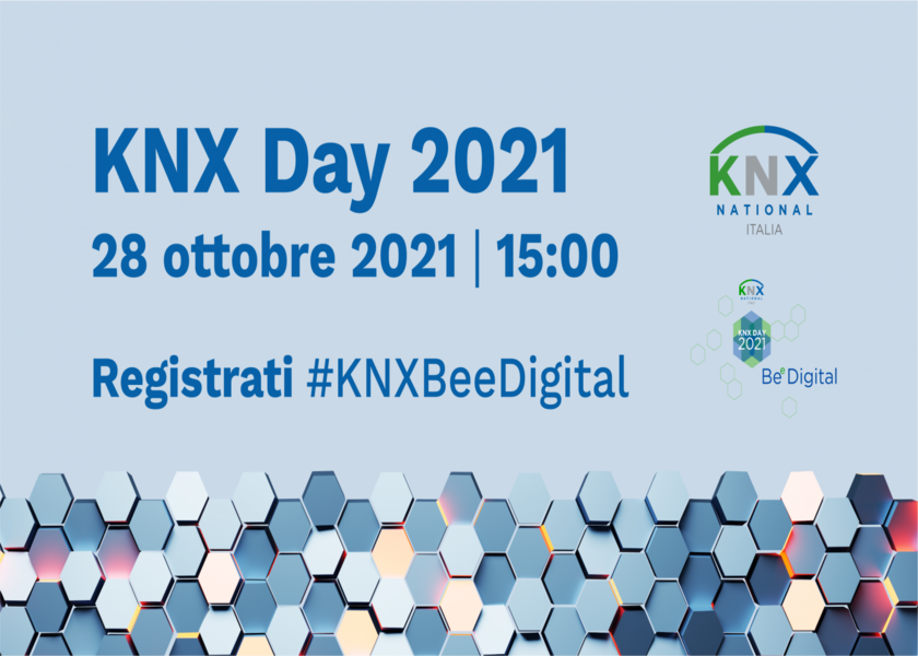 KNX Day 2021- 28 Ottobre SAVE THE DATE!